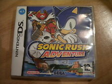 SONIC RUSH  ADVENTURE   ! JEU DS  /  LITE  /  DSI / 2 DS