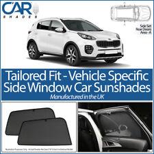 Kia Sportage 5dr 2016> CAR SHADES UK TAILORED UV SIDE WINDOW SUN BLINDS BABY PET