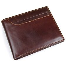Mens wallet.Compact wallet.leather wallet.Card wallet.RFID wallet