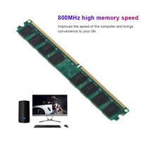 NEW 2GB DDR2-800MHz PC2-6400 240PIN PC6400 Fit For AMD Motherboard memory RAM