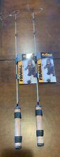 """2 Frabill Njord Ice Fishing Rods 28"""" Deadstick"""