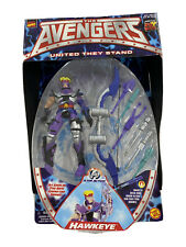 1999 Toy Biz Avengers United They Stand Hawkeye New In Package w/ bow and arrows