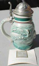 Avon Vtg Endangered Species: Sperm Whale Mini Stein Made Brazil 1992 #D-30