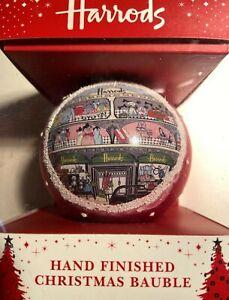 HARRODS CHRISTMAS BAUBLE DRESSED WINDOW 2011 UNOPENED
