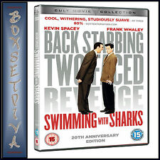 SWIMMING WITH SHARKS - 20 YEAR ANNIVERSARY COLLECTORS ED  **BRAND NEW DVD***