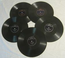 Five DON MESSER & His ISLANDERS 78's -- Soldiers Joy, DILL PICKLES, Jimmy's Jig