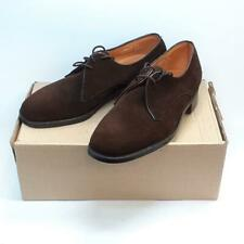 Loake Bros Shoemakers Brown Suede Leather Lace-Up Shoes, UK 5, Unworn in Box