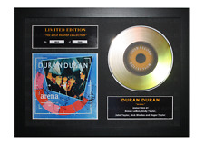 More details for duran duran signed gold disc album ltd edition framed picture memorabilia