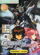 Mobile Suit Gundam Seed Destiny Complete Series English Dub Episode 1 - 50 DVD