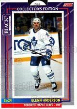 1993-94 Toronto Maple Leafs Score Blacks #3 Glenn Anderson