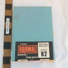 New listing New Old Stock Bromal 50 sheets 5x7 B&W Photographic paper N2 Sealed