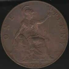More details for 1912 george v one penny coin   british coins   pennies2pounds