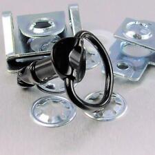 Tornillo rápido de aluminio 1/4 de vuelta 17mm negro LQRCLIP17BK