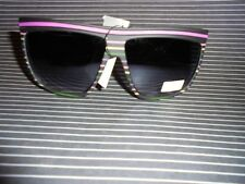 Italian Design Matt Look Sunglasses Designer Sunshine Brand UV400 SUN 1922 CAT.3