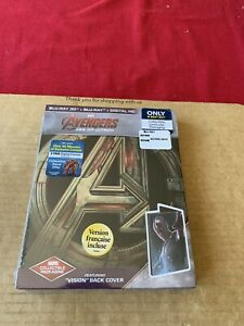 Avengers Age of Ultron Steelbook Blu Ray New & Sealed Marvel Best Buy Exclusive