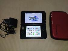 Console Nintendo 3DS XL Rossa Nera con Giochi