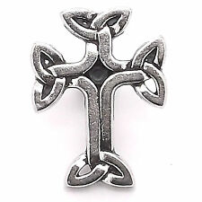 "Celtic 3-D Cross Decorative Snap Set Black Epoxy 1"" 1265-20 Stecksstore"