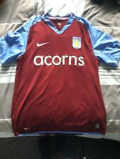 2008/09 Aston Villa Nike Home Shirt Large
