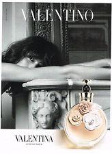 PUBLICITE ADVERTISING 094  2012   VALENTINO   parfum femme VALENTINA
