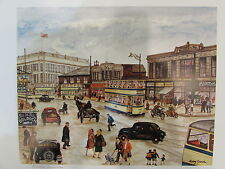 Terry Gorman Mounted Print - ATTERCLIFFE, BANNERS