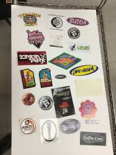 Lot Vintage Music Miscellaneous Stickers Decals G1.7