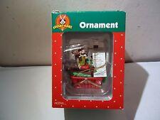 VINTAGE LOONEY TUNES CHRISTMAS ORNAMENT IN BOX TAZ SHOPPING BASKET LIST 1998