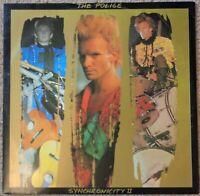 The Police - Synchronicity II 1983 12 inch vinyl single