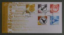 #8516 Greece Historic Sport Clubs FDC 02.11.2007 dark black cancel