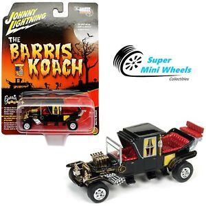 Johnny Lightning 1:64 Barris Koach Black - Silver Screens Series