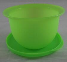 Tupperware J 45 Junge Welle 550 ml Schüssel Dose mit Deckel Neon Grün Neu