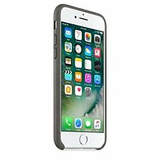100 Official Genuine Apple iPhone 7 Leather Protective Case Cover Grey