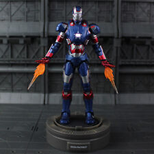 1/12 Iron Patriot Iron Man 3 Play Imaginative Super Alloy Diecast Action Figure