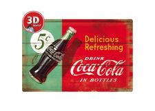 24005 Placa metálica 40x60 coca-cola nostalgic art coolvintage