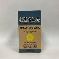 Huo Xiang Zheng Qi Wan - Herbal Supplement for Cold/Flu, Digestion - Made in USA