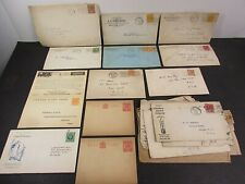Canada London Letter Covers Envelope Stamps Antique Lot Collection