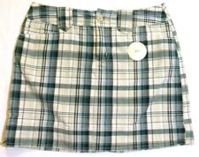 New St. John's Bay 8 P, petite plaid Skorts, skirt w shorts inside
