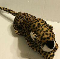 "A Mart Corp Leopard Cat  10"" Plush Stuffed Animal"