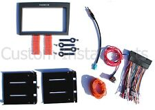 Aftermarket Radio Double Din Dash Kit Installation Bose AMP Replacement Harness