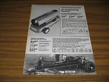 1980 Print Ad Montgomery Wards Log Splitters 5 HP Briggs & Stratton Engine