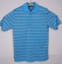 Adidas Men's Small Puremotion Textured Stripe Golf Polo Shirt NWOT