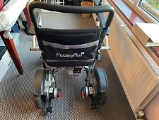 MobilityPlus Instant Folding Electric Wheelchair - Silver