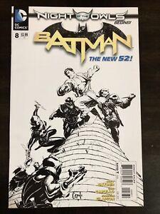 BATMAN #8 NEW 52 1:200 CAPULLO VARIANT DC COMICS NM