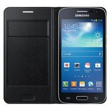 Etui À Rabat Samsung Ef-wg386bb Noir pour Galaxy Core 4