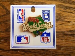 1989 World Series Official Collectable Pin, New, RARE