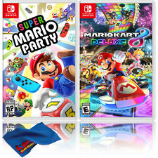 Super Mario Party + Mario Kart 8 Deluxe - Two Game Bundle - Nintendo Switch