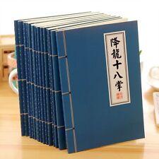 Chinese Kungfu Pattern Notebook School Office Supplies Notepad Sketchbook