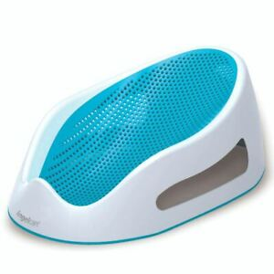 New Angelcare Baby Child Bath Support Soft Touch Shower Mini Seat - Aqua