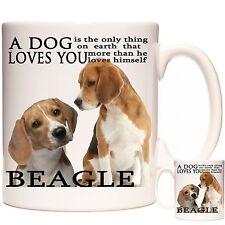 Beagle mug, Dishwasher safe. Matching Coaster Available. Can Be Personalised
