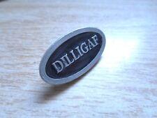 Vintage DILLIGAF Harley Davidson Motorcycle Pin Factory Badge HD Jacket Vest