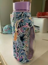 NIB Lilly Pulitzer Phone Case Water Bottle Namastay In The Jungle